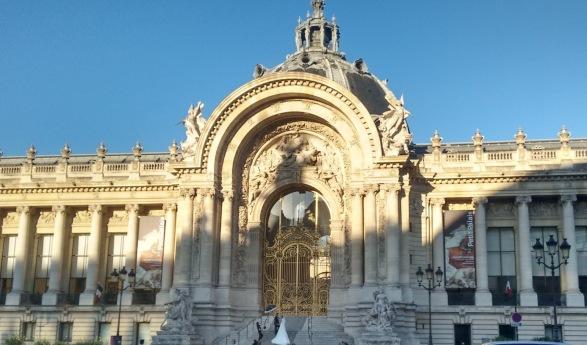 Fachada do Grand Palais