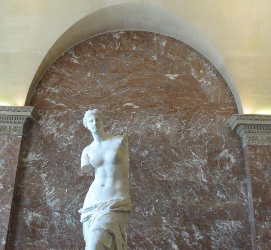 Vênus de Milo no Louvre