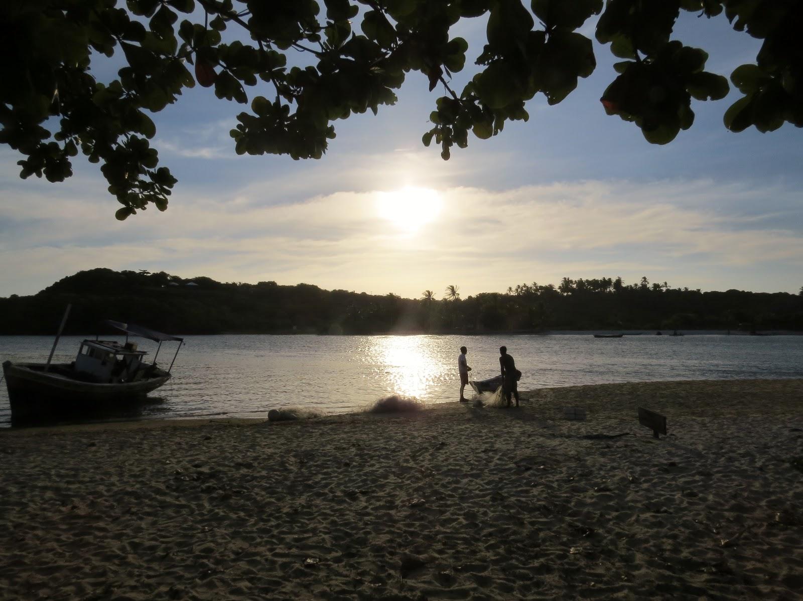 por do sol em caraíva roteiro praia do espelho