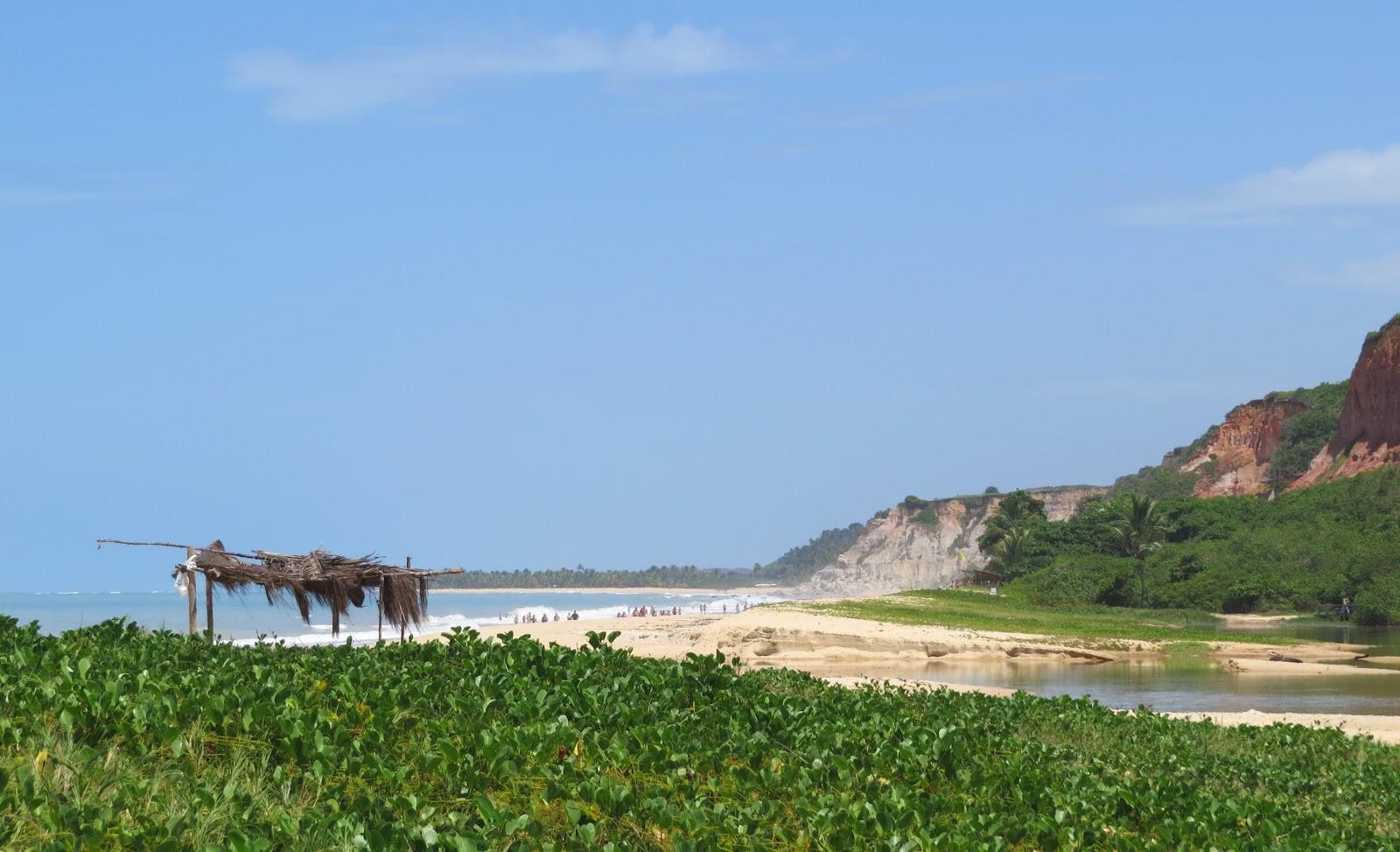 Praia de Taípe rota para praia do espelho