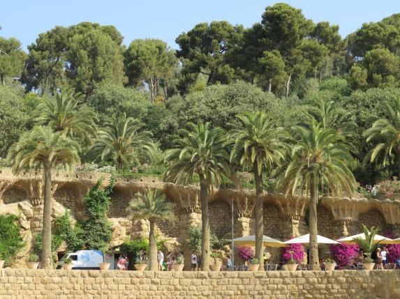 Jardim do Park Guel Barcelona