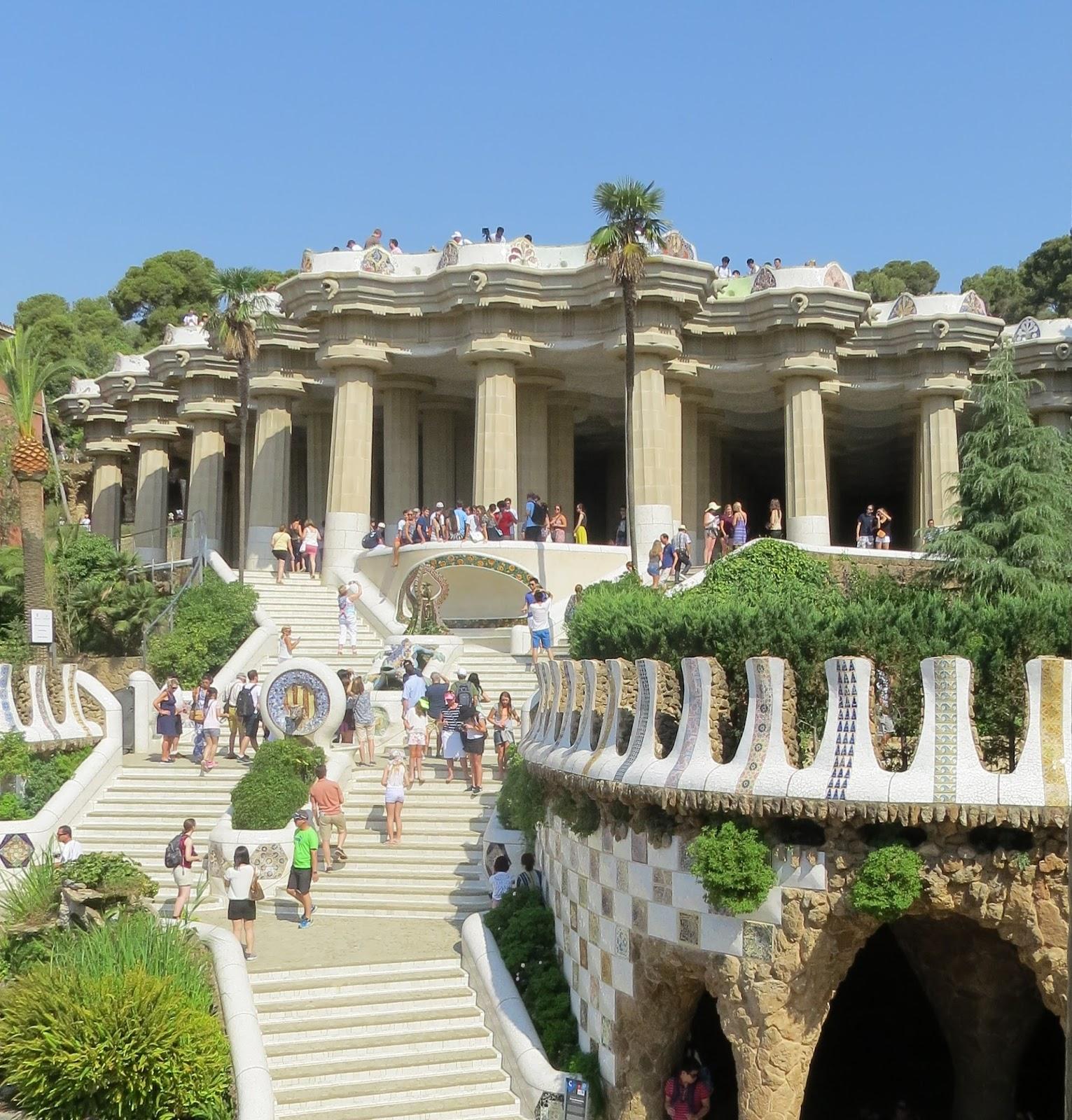 Escadaria Park Guel Barcelona