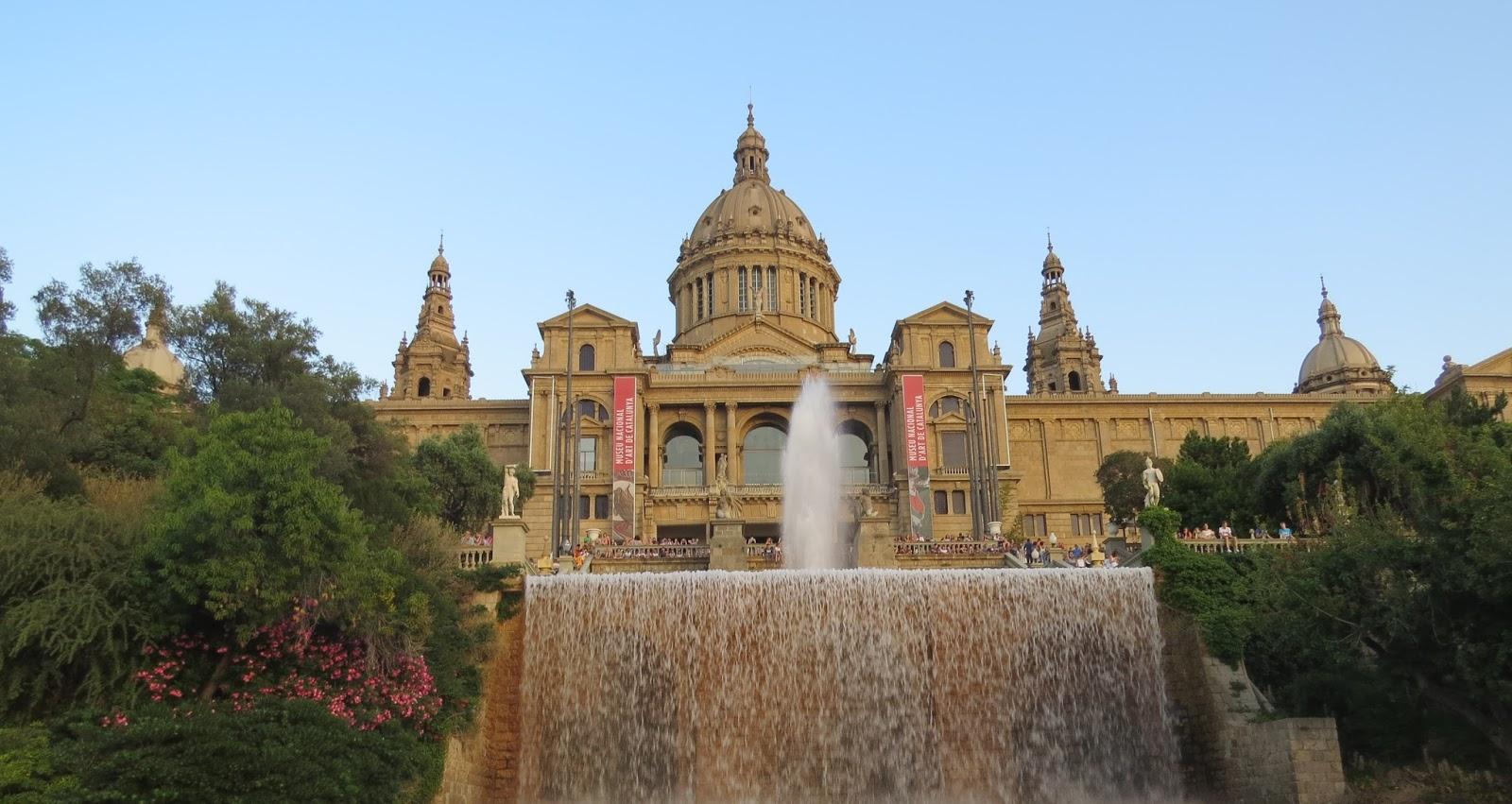 Palau Nacional em Barcelona
