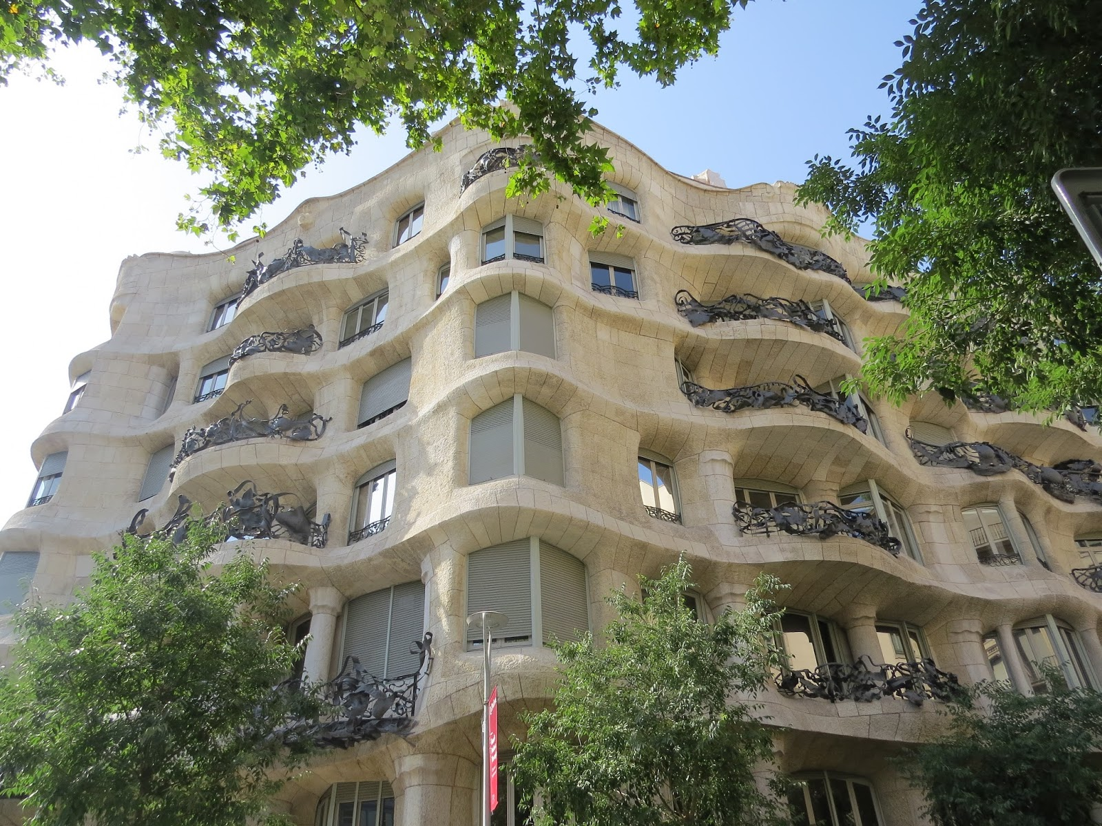 Edifício La Pedrera Barcelona