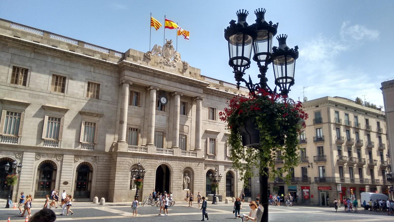 Prédio da Prefeitura de Barcelona