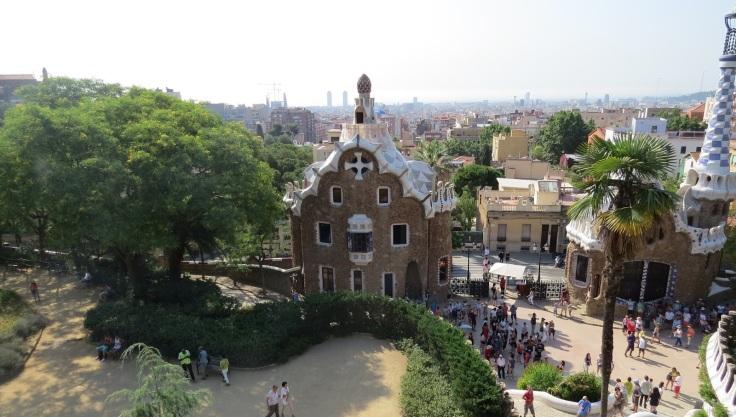 Barcelona vista do Park Guel