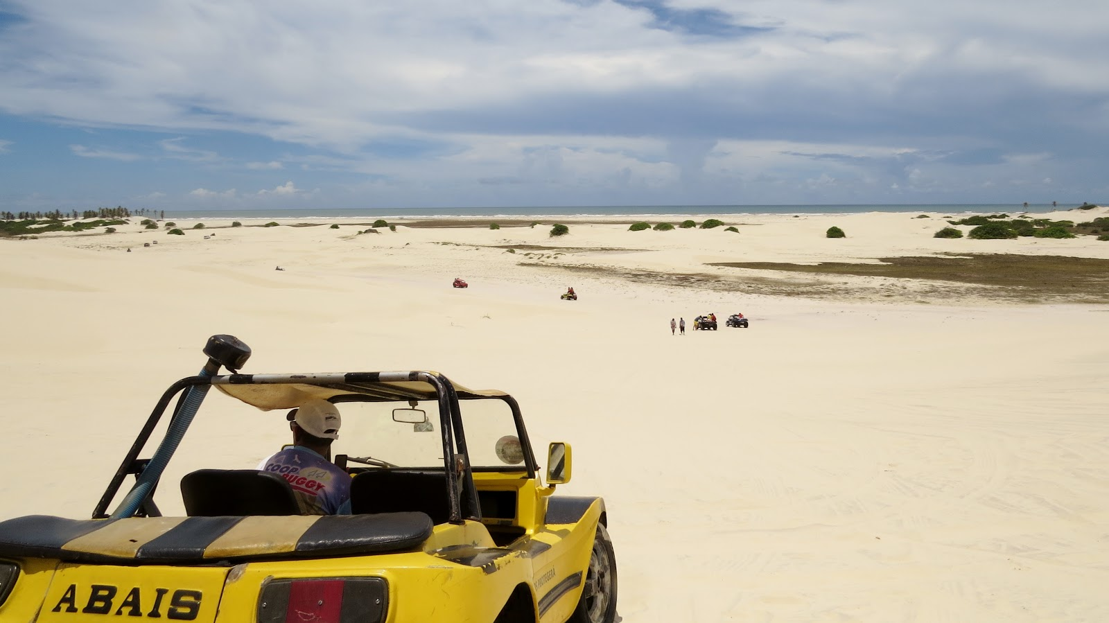 Buggy em duna de Mangue Seco