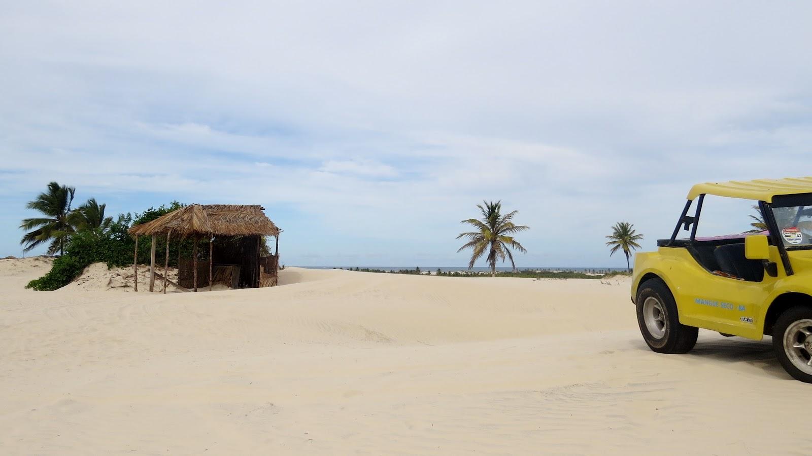 Passeio de Buggy nas dunas de Mangue Seco Bahia