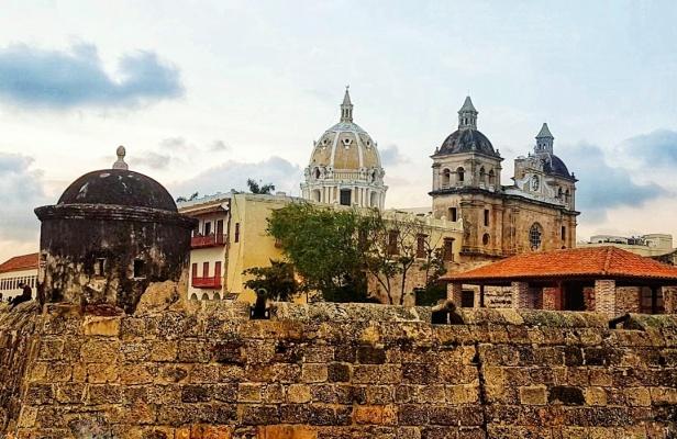 Cartagena cidade amuralhada