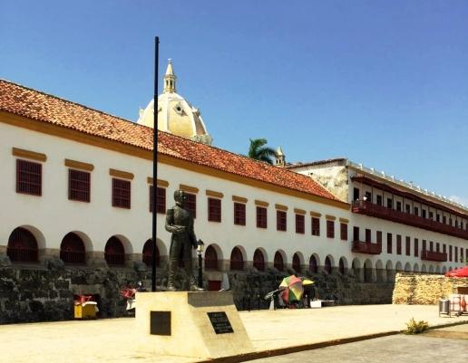 Centro histórico de Cartagena na Colômbia