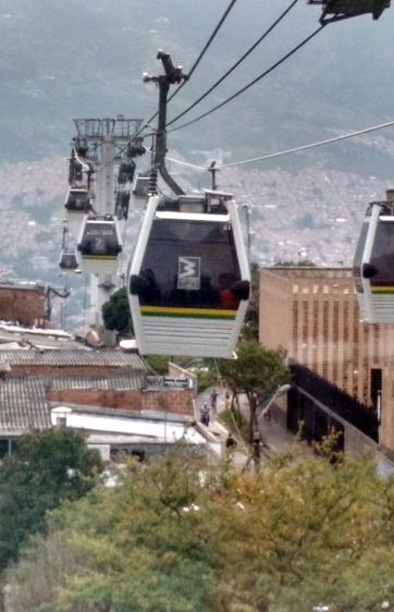 MetroClabe é transporte público de Medellín Colômbia