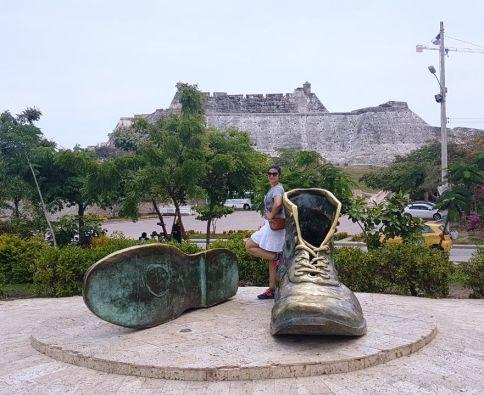 Monumento dos Sapatos Velhos Cartagena