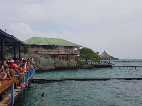 oceanário em isla del rosario