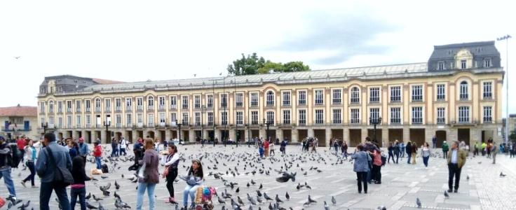 Bogota-Plaza-Bolívar
