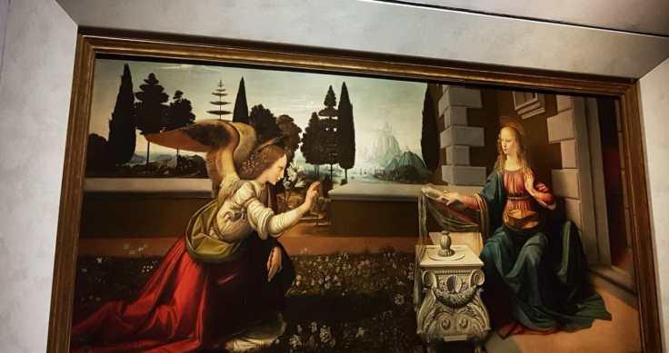 Florença-Florença-Uffizi-anunciação