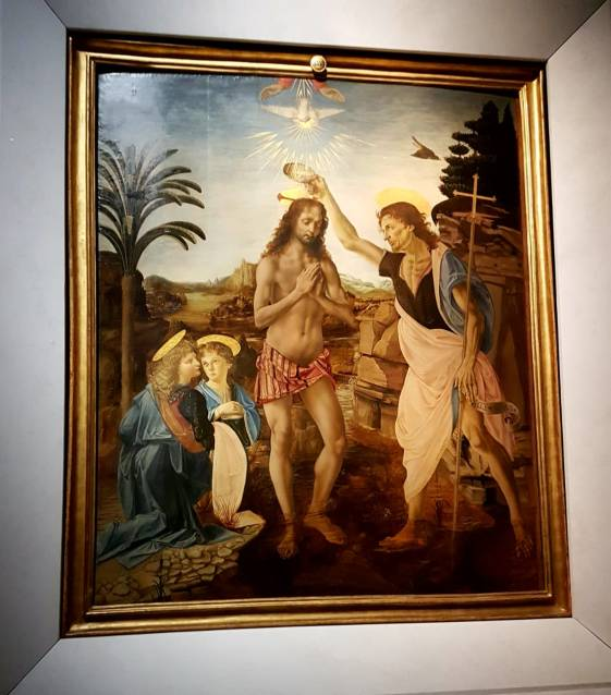 Florença-Uffizi-batismo