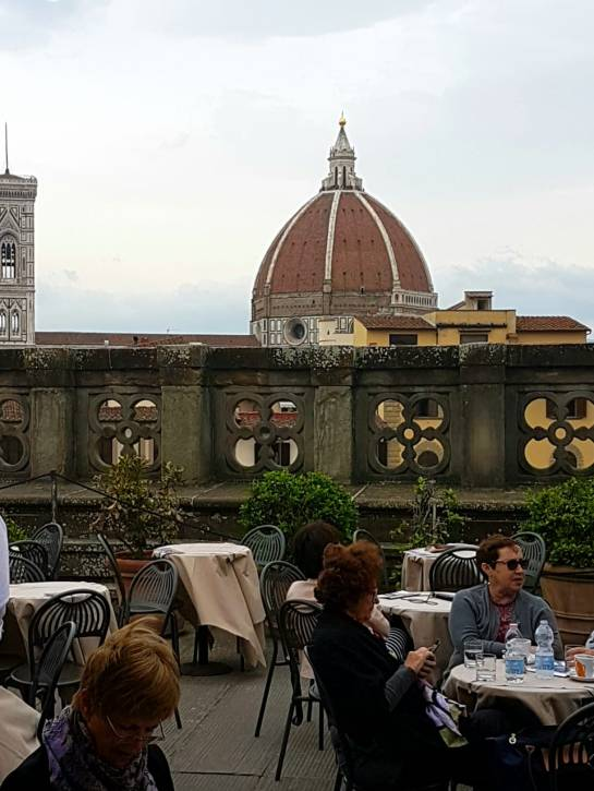 Florença-Uffizi-café