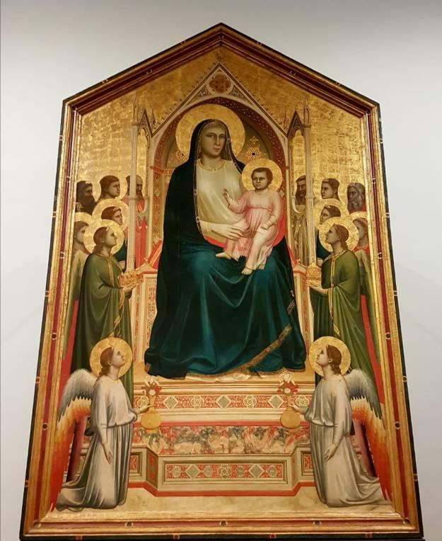 Florença-Uffizi-Giotto