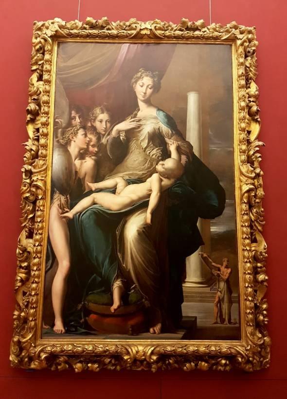Florença-Uffizi-madonna-