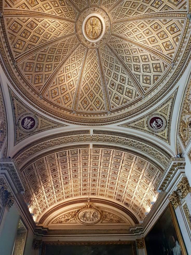 Florença-Uffizi-teto
