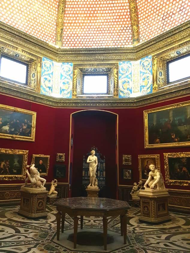 Sala 18, A Tribuna, da Galleria Uffizi