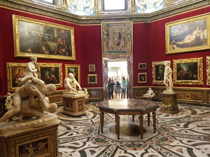 Florença-Uffizi-sala-18