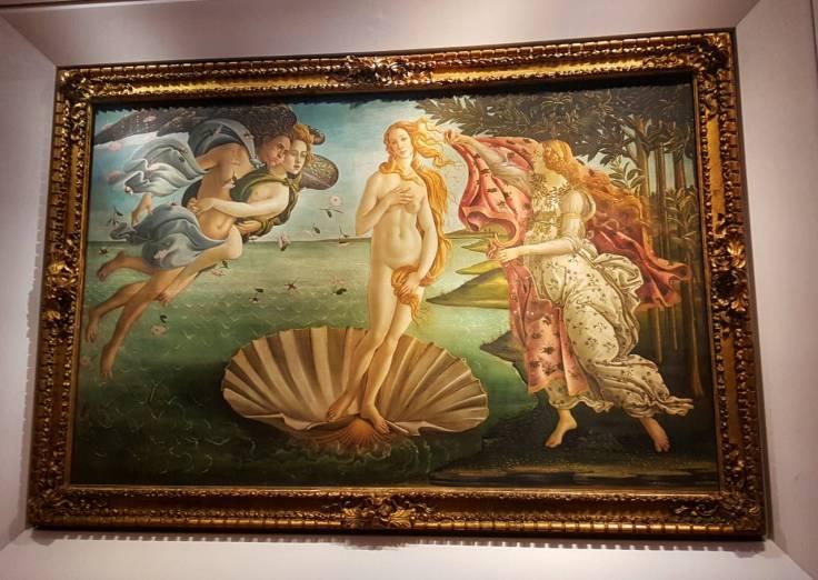 Florença-Ufifizi-venus-boticelli