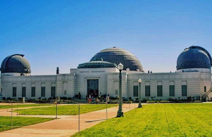 Fachada do Observatório Griffith