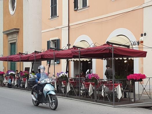 Rua em Pisa Itália
