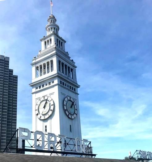 Ferry Bulding em San Francisco