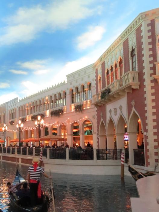 Passeio de Gôndola The Venetian Las Vegas