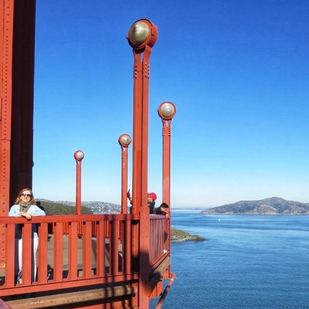 Plataforma da Golden Gate em São Francisco Califórnia