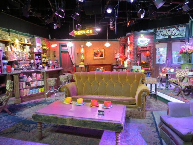 Interior Central Perk seriado Friends