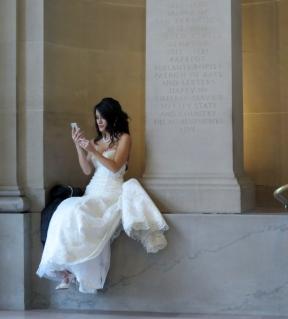 noiva na prefeitura