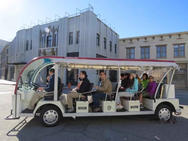 Carro tour warner Los Angeles