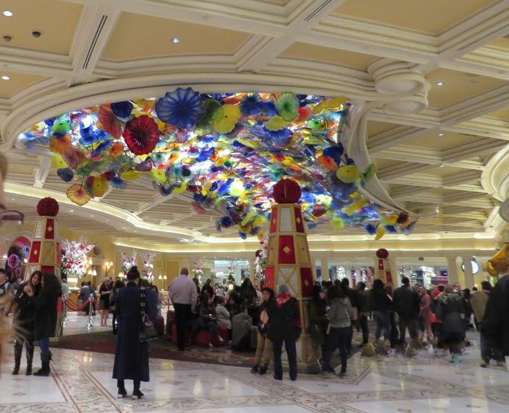 Fiori di Como escultura no Bellagio Las Vegas