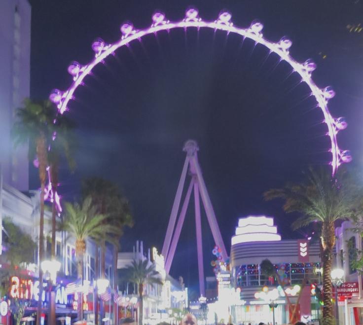 High roller roda gigante em Las Vegas