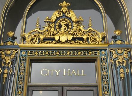 porta da prefeitura