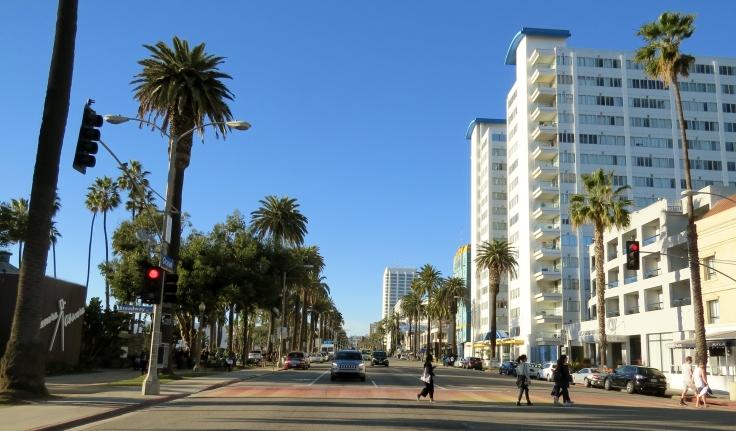 Santa Mônica região de Los Angeles