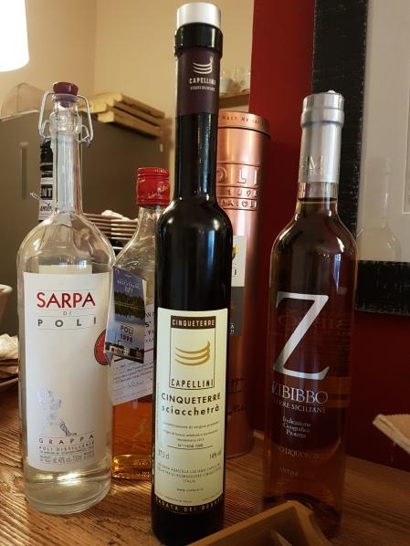 vinho de sobremesa produzido em Cinque Terre