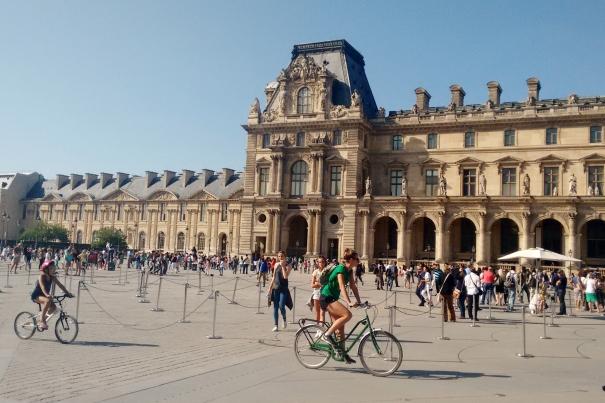 passeio de bike centro de paris