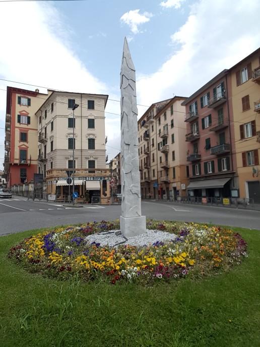 Rua em La Spezia Ligúria Itália