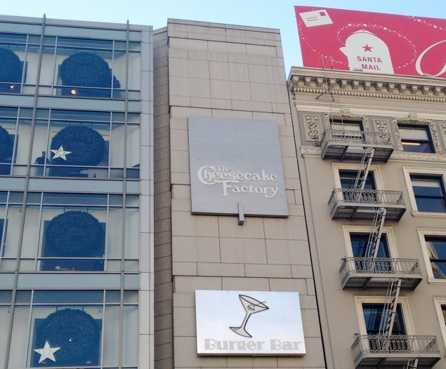 fachada da Macys na Union Square em San Francisco