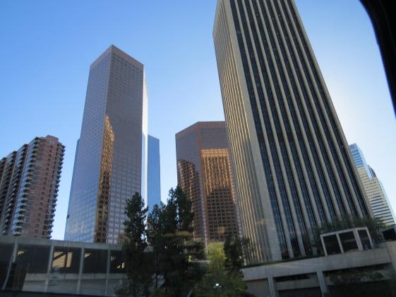 Prédios no centro de Los Angeles California