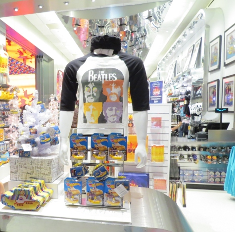Loja de artigos dos The Beatles no Mirage Las Vegas