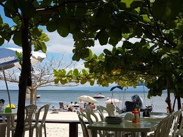 almoço-passeio-barco