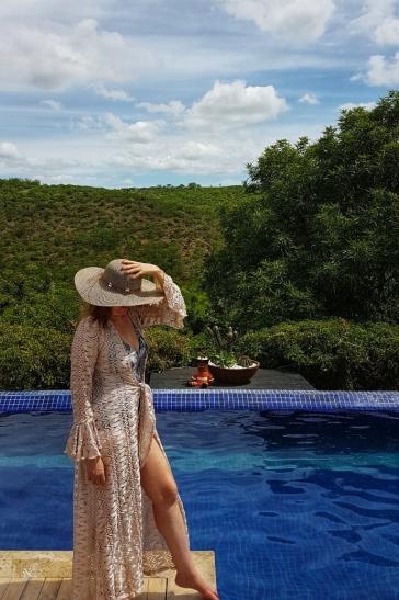 piscina de borda infinita do Pedra do Sino Hotel