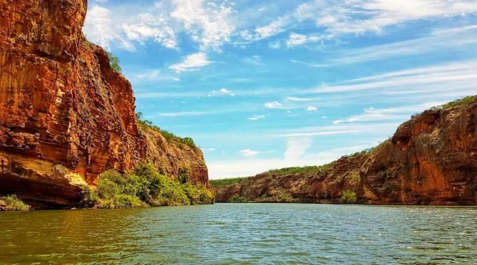 cânion-do-xingo-paisagem