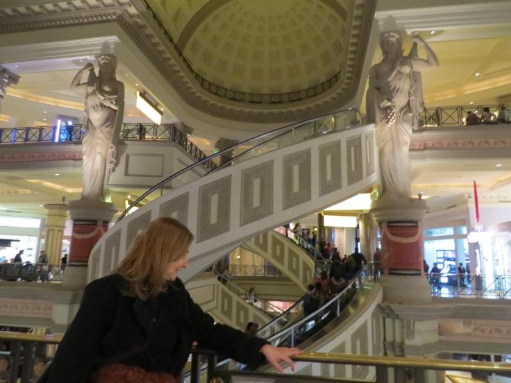 Escada rolante Caesars Palace Las Vegas