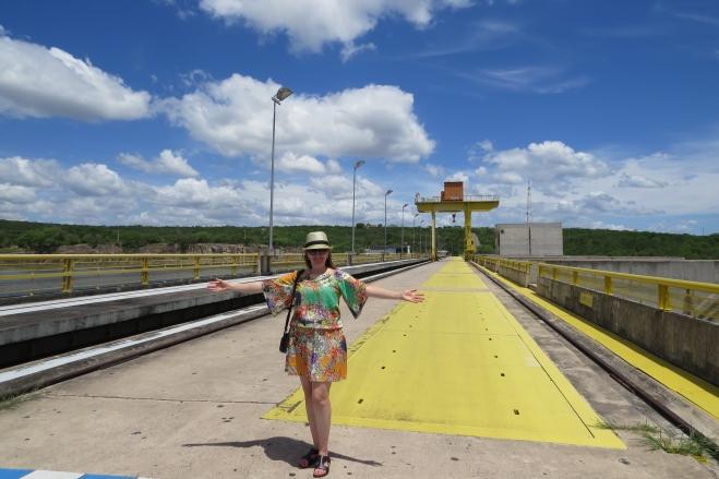 Usina Hidrelétrica do Xingó em Sergipe